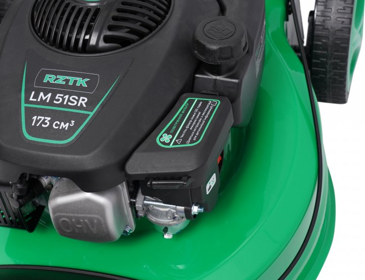 Газонокосилка бензиновая RZTK LM 51SR