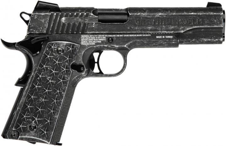 "Пістолет пневматичний Sig Sauer Air 1911 ""We The People"" Blowback калібр 4.5 мм (AIR-1911WTP-BB) - зображення 1"