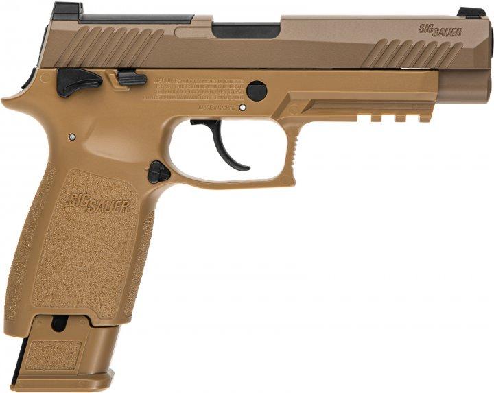 Пістолет пневматичний Sig Sauer P320-M17 Blowback калібр 4.5 мм (AIR-M17-177) - зображення 1
