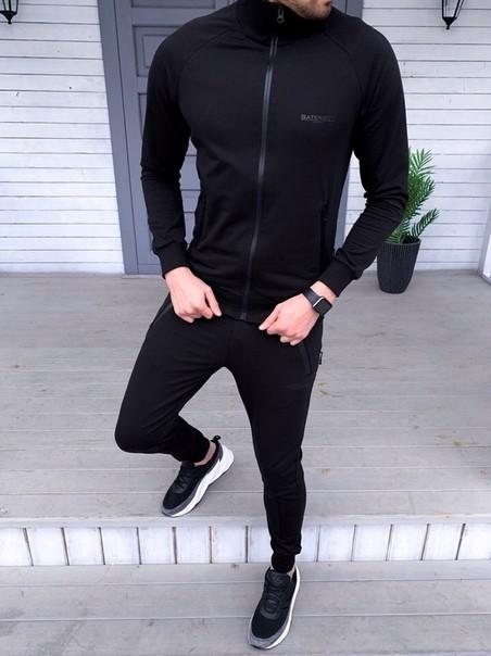 Спортивный костюм Chernyy Kot SARMAT DM-BLACK Черный L - изображение 1