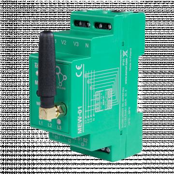 Монітор споживаної електроенергії Zamel Supla MEW-01 3-х фазний, Wi-Fi (MEW-01) - зображення 1