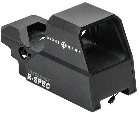 Коллиматорный прицел Sightmark Ultra Shot R-Spec с двухцветной мульти сеткой 10 режимов яркости - изображение 1