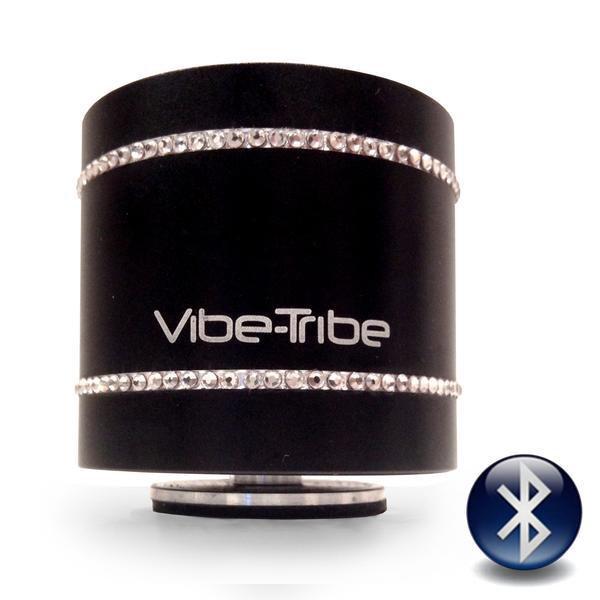 Колонка резонансная динамик Vibe-Tribe Troll Swarovski Original 3D акустика черный - изображение 1