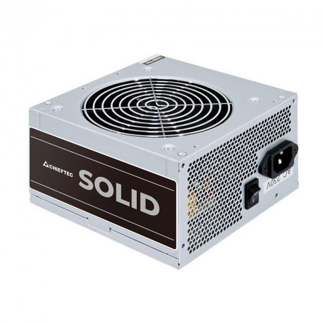 Блок питания Chieftec GPP-400S, ATX, APFC, 12cm fan, КПД >85%, bulk - изображение 1