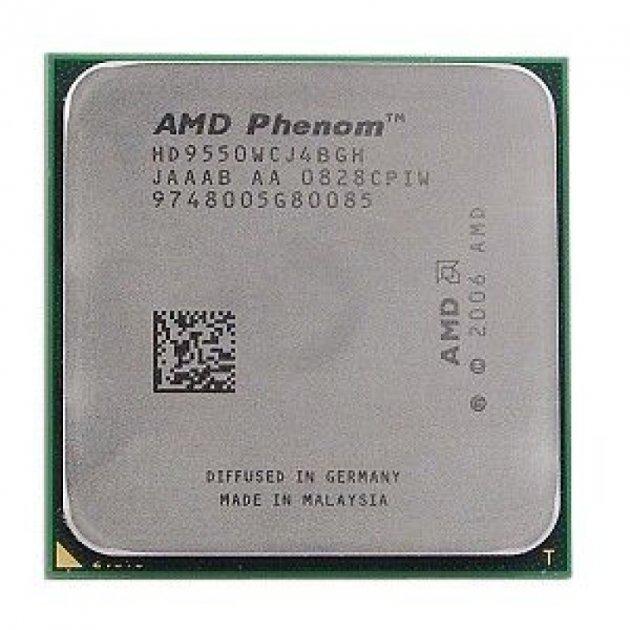 Процесор AMD Phenom X4 9950 Black Edition 4 Ядра, 2.6 GHz, sAM2+ / AM2, Tray ( HD995ZFAJ4BGH ) Б/У - зображення 1