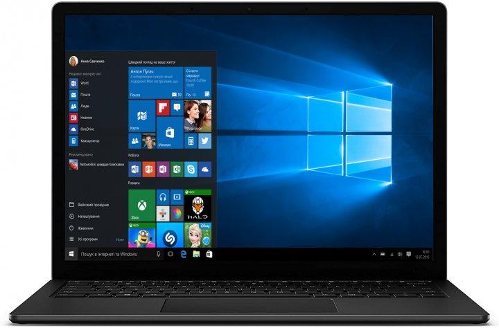 Ноутбук Microsoft Surface Laptop 4 (5AI-00001) Matte Black - зображення 1
