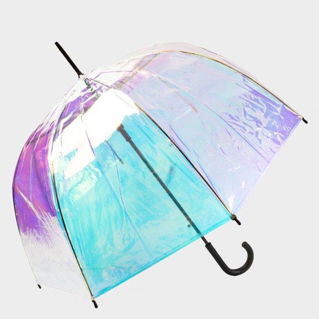 Зонт-трость женский Happy Rain U40979 Полупрозрачный хамелеон (2900000072299) - изображение 1
