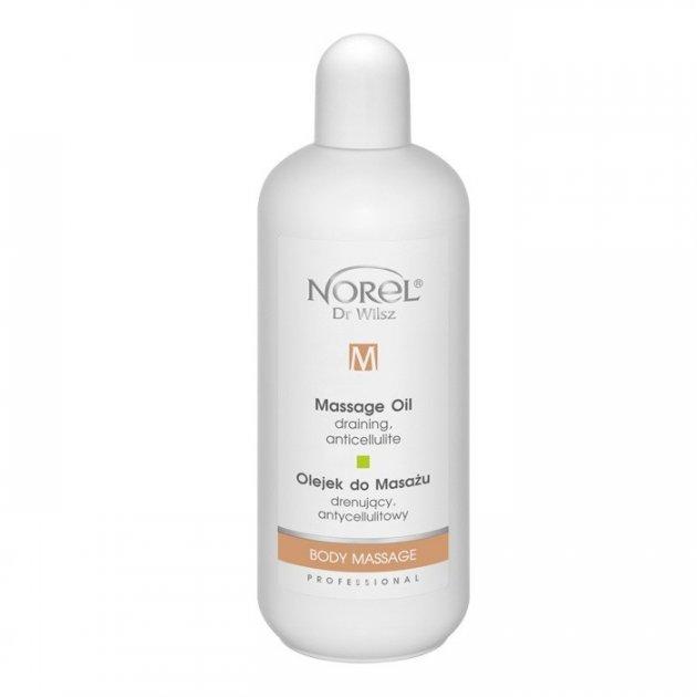 Лимфодренажное антицеллюлитное массажное масло Norel Draining, anti-cellulite massage oil 500 мл - изображение 1