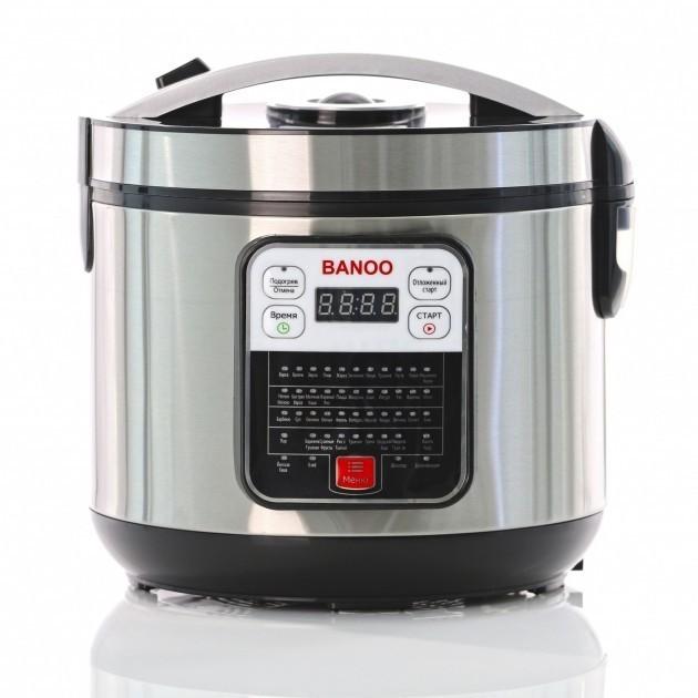 Мультиварка Пароварка Banoo 48 программ с йогуртницей и хлебопечкой для кухни на 6 л 1500 Вт (BN-7002 ) - изображение 1