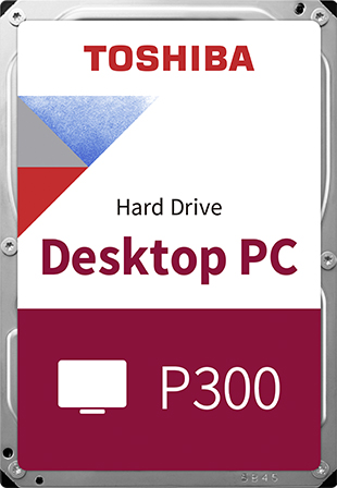 "Жорсткий диск Toshiba P300 4TB 5400rpm 128MB HDWD240UZSVA 3.5"" SATA III - зображення 1"
