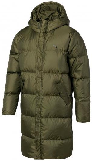 Пуховик Puma Longline Down Jacket 84391401 XL Olive Night (4060978175816) - изображение 1