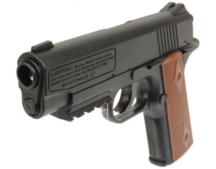Пневматичний пістолет Crosman 1911 BB COLT - зображення 1
