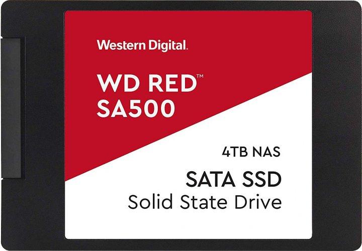 "Western Digital Red SA500 SSD 4TB 2.5"" SATAIII (WDS400T1R0A) - изображение 1"
