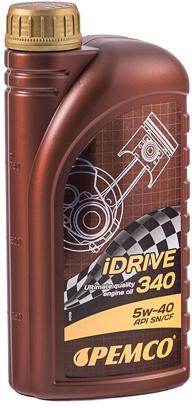 Моторное масло Pemco iDrive 340 SAE 5W-40 1 л (581/1) - изображение 1
