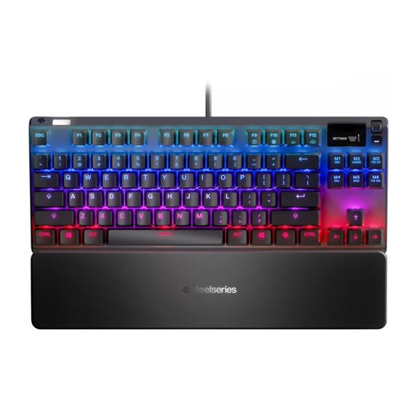 Игровая клавиатура SteelSeries Apex Pro TKL (64734) - изображение 1
