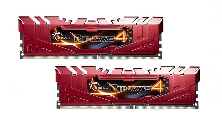 Модуль памяти DDR4 2x8GB/2400 G.Skill Ripjaws 4 (F4-2400C15D-16GRR) - изображение 1