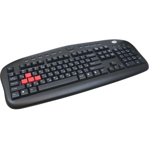 Клавіатура A4Tech KB-28G Black PS/2 - зображення 1