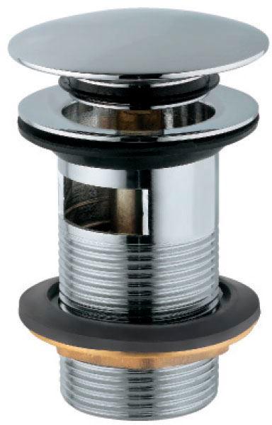 Донный клапан для раковины JAQUAR ALD-CHR-729 c переливом хром