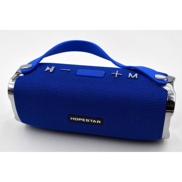 Портативная bluetooth колонка Hopestar Sound System H75 PLUS Синяя - изображение 1