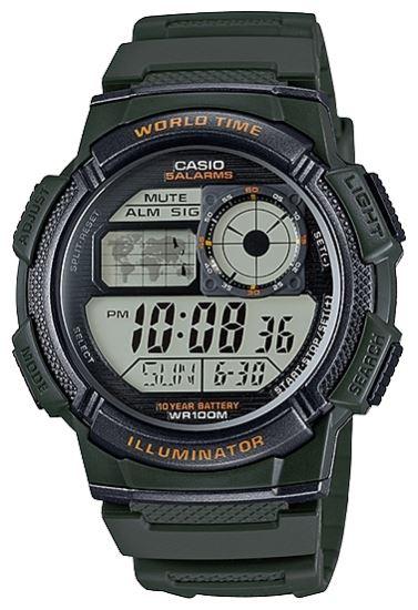 Часы CASIO AE-1000W-3AVEF - изображение 1