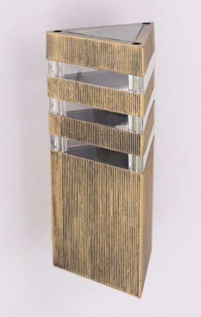 Настінний ліхтар (23х13х14 див.) Золото постарене (YR-8023/1-bg-p-mg) - зображення 1