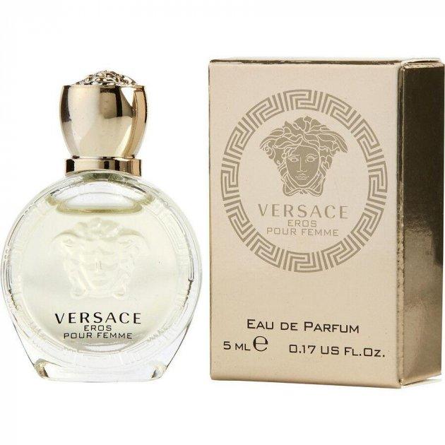 Миниатюра Парфюмированная вода Versace Eros Pour Femme для женщин - edp 5 ml ( 8011003823598) - изображение 1