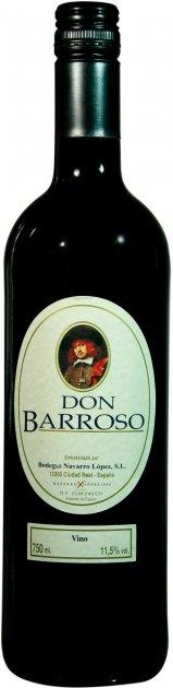 Вино Don Barroso Semisweet Red Wine красное полусладкое 0.75 л 11% (8437006111478) - изображение 1