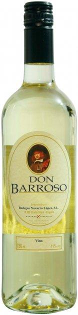 Вино Don Barroso Semisweet White Wine белое полусладкое 0.75 л 11% (8437006111485) - изображение 1