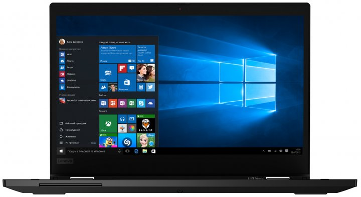 Ноутбук Lenovo ThinkPad L13 Yoga (20R5000HRT) Black пошкоджена упаковка - зображення 1