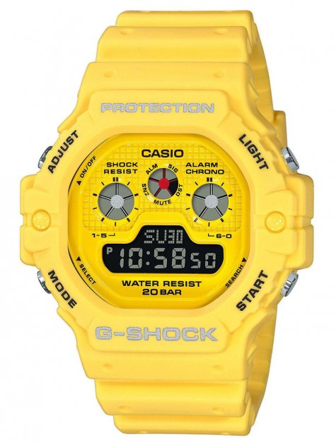 Часы Casio DW-5900RS-1ER G-Shock 47mm 20ATM - изображение 1