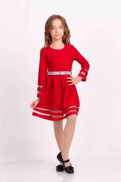 Платье детское ViDa 116 Красное (74-1) - изображение 1