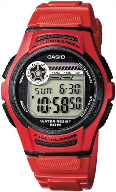 Годинник Casio W-213-4AVEF - зображення 1