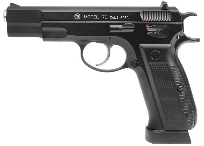 Пістолет пневматичний ASG CZ 75 Blowback. 23702881 - зображення 1