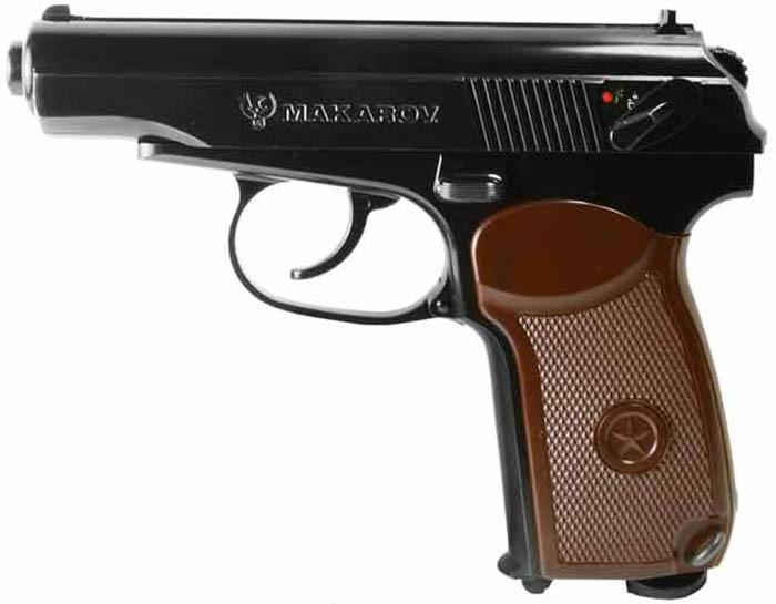 Пистолет пневматический SAS Makarov. Корпус - металл. 23701430 - изображение 1