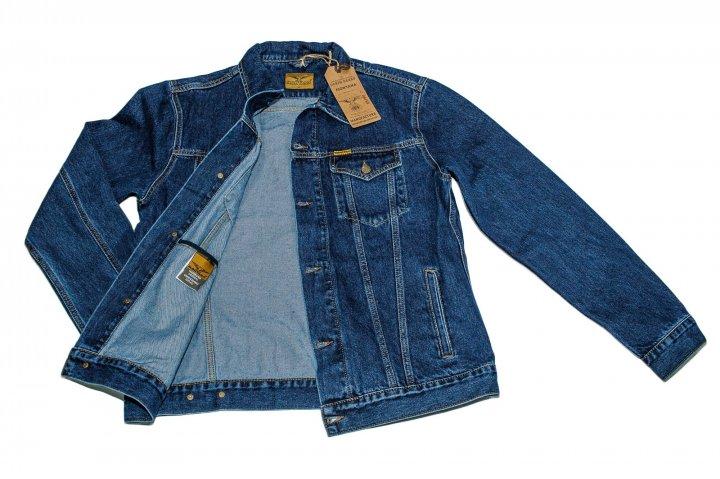 Джинсова куртка MONTANA MAKSIM 02 2XL Синя - зображення 1