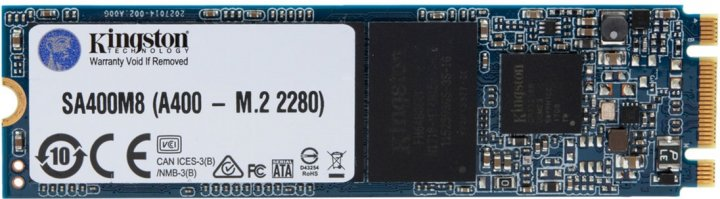 Kingston SSD SSDNow A400 480GB M.2 2280 SATAIII 3D V-NAND (SA400M8/480G) - изображение 1