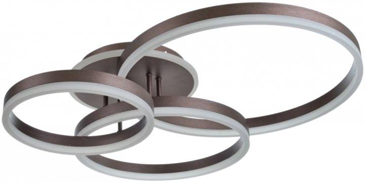 Світильник настінно-стельовий Brille BL-936С/76 Вт COF (24-251) - зображення 1