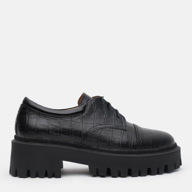 Туфли LeoModa 21115/1/2 37 (24 см) Черные (2000000000541)