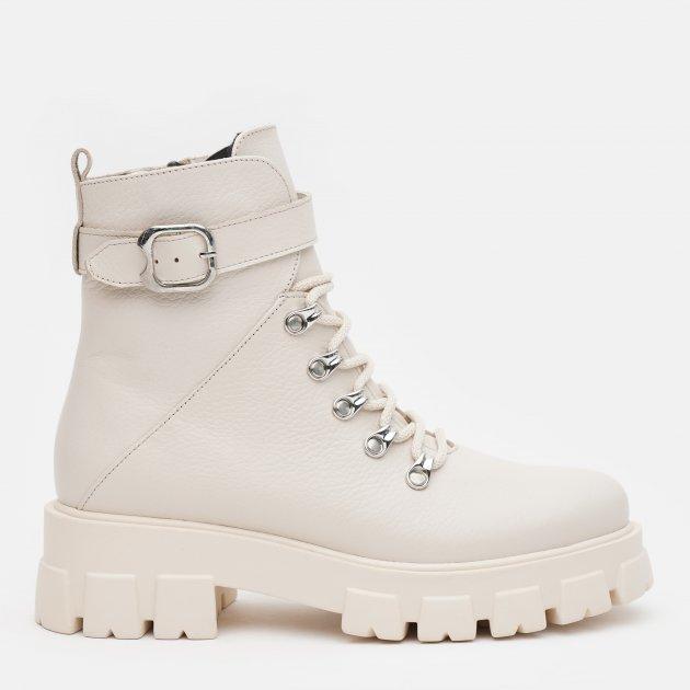 Ботинки LeoModa 58_330 36 (23 см) Бежевые (2000000000596)