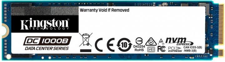 Kingston DC1000B 240GB NVMe M.2 2280 PCIe 3.0 x4 3D NAND TLC (SEDC1000BM8/240G) - изображение 1