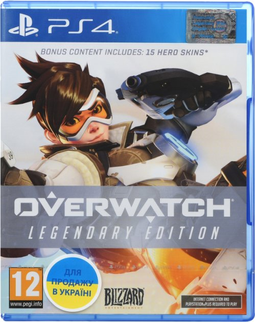 Игра Overwatch. Legendary Edition для PS4 (Blu-ray диск, Russian version)