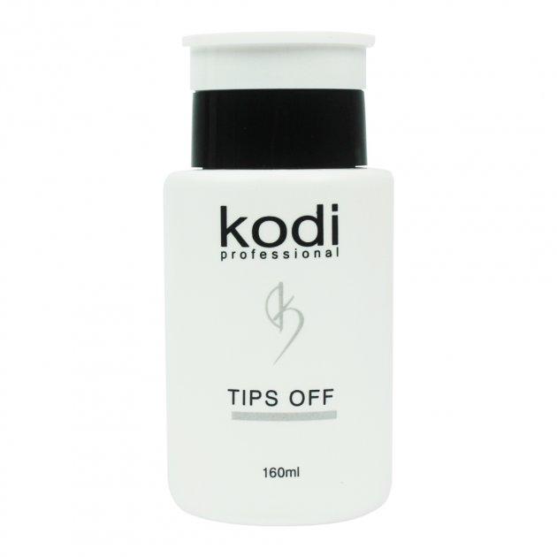 Kodi Tips Off - Рідина для зняття гель-лаку і акрилу Kodi, 160 мл (0052045) - зображення 1