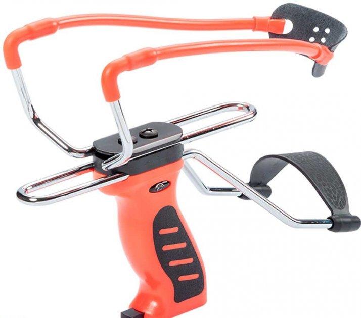 Рогатка Man Kung MK-SL06O с упором ц:оранжевый. 1000074 - изображение 1