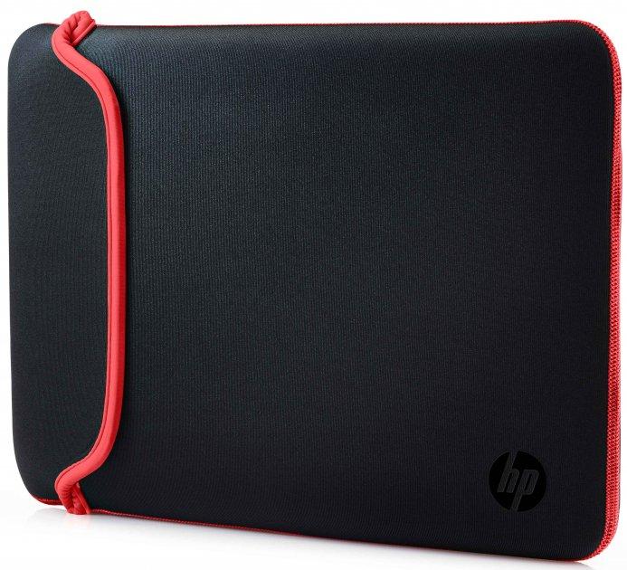 "Чехол для ноутбука HP Chroma Sleeve 14"" Black/Red (V5C26AA) - изображение 1"