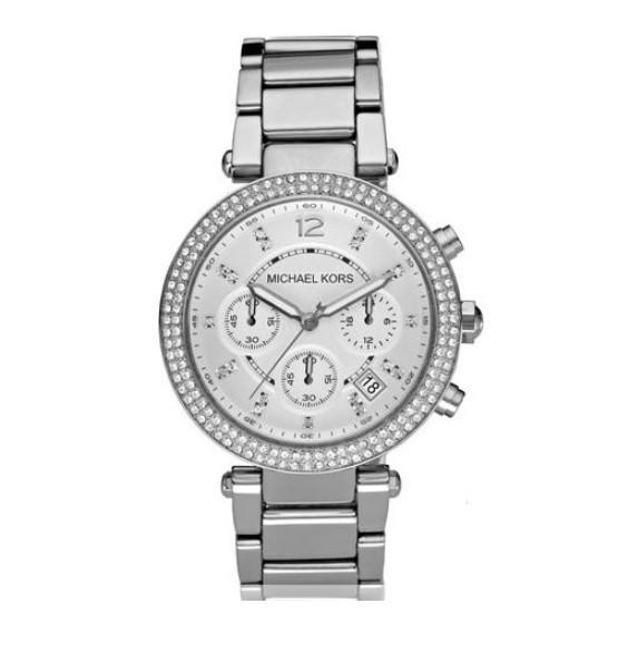 Часы Michael Kors MK5353 Parker Серебристые - изображение 1