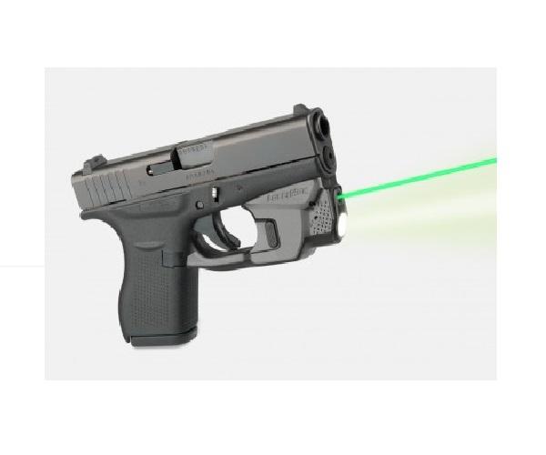 Целеуказатель LaserMax на скобу для Glock 42/ 43 з ліхтарем (зелений). 33380024 - зображення 1