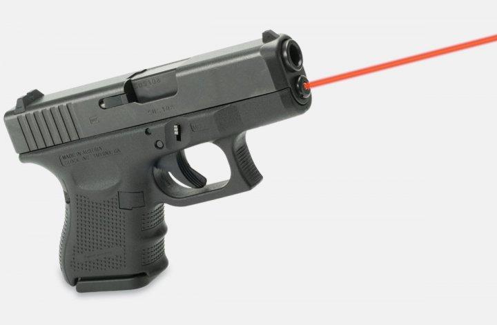Целеуказатель LaserMax для Glock42 червоний. 33380020 - зображення 1