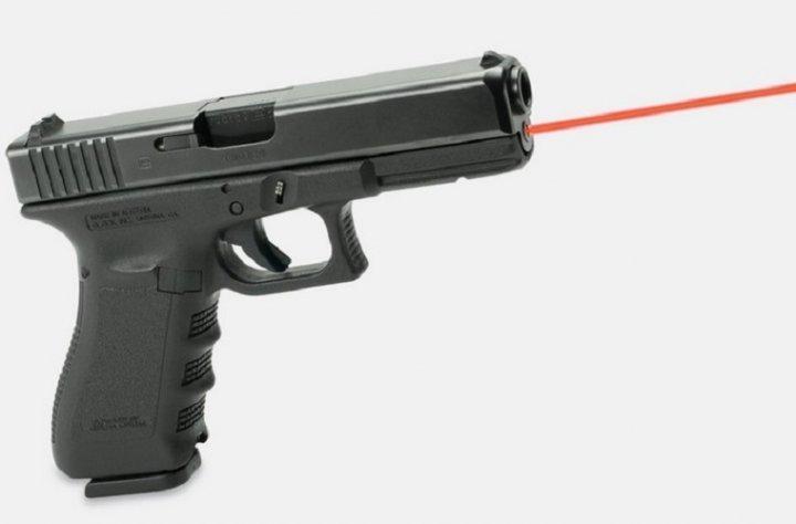 Целеуказатель LaserMax для Glock 26/27 GEN4 червоний. 33380014 - зображення 1