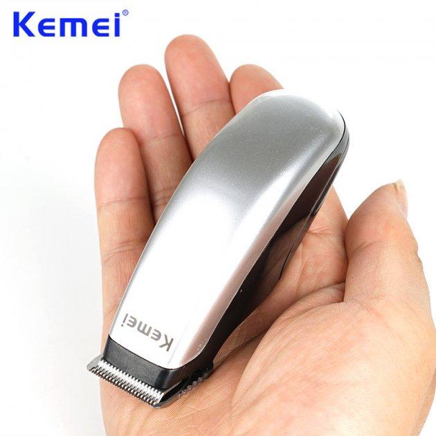 Универсальная профессиональная машинка для стрижки волос Kemei триммер для бороды Km-9612 - изображение 1