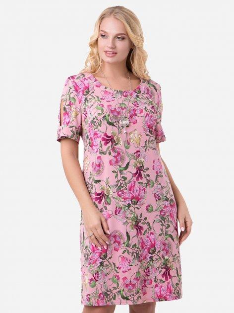 Платье All Posa Гавана 1320-10 56 Розовое - изображение 1